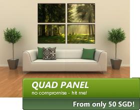Quad Panel